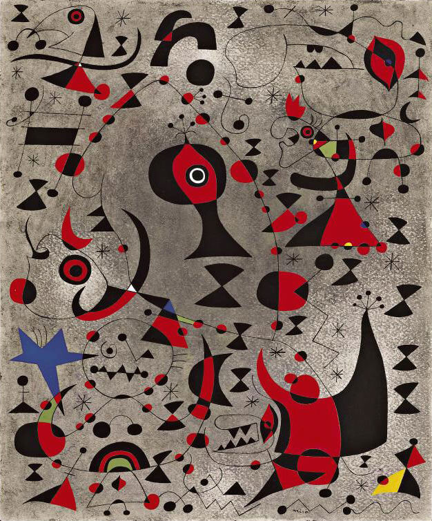 Constellation: Toward the Rainbow, 1941 by Joan Miro