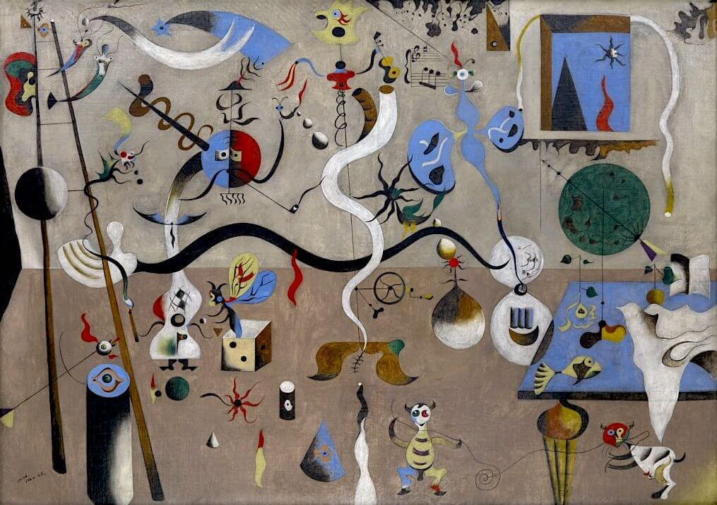 Harlequin's Carnival, 1924-25, by Joan Miro