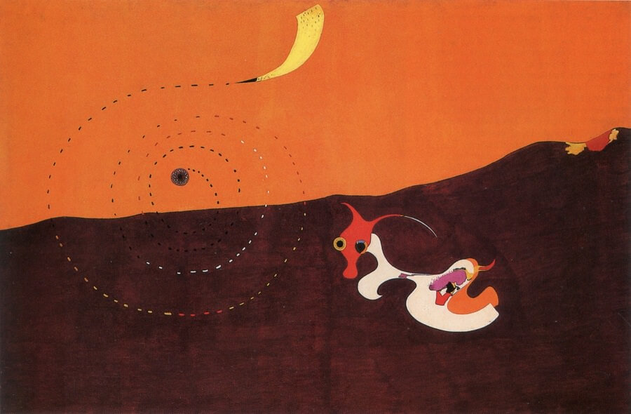 Landscape (The Hare), 1927 by Joan Miro