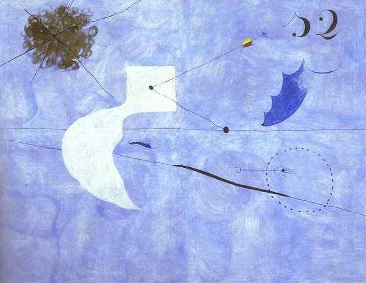 Siesta, 1925 by Joan Miro