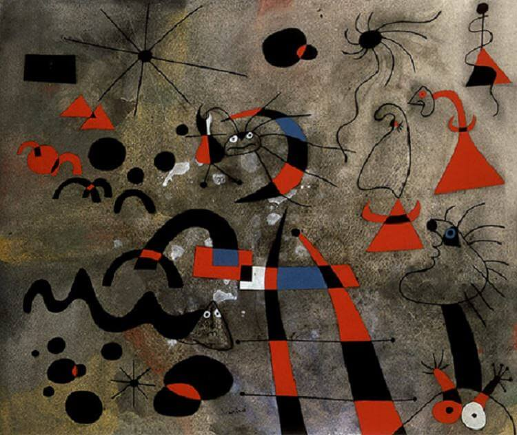 The Escape Ladder, 1940 by Joan Miro