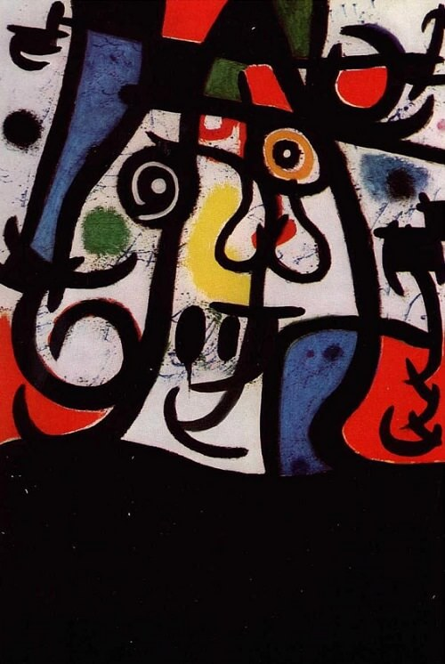Woman and Birds, 1968 by Joan Miro