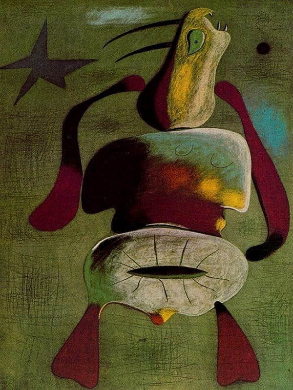 Woman, 1934 by Joan Miro